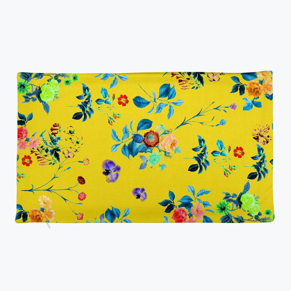 Floral Shower Rectangular Pillow Case only