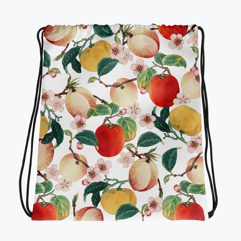 Fruity Summer Drawstring bag