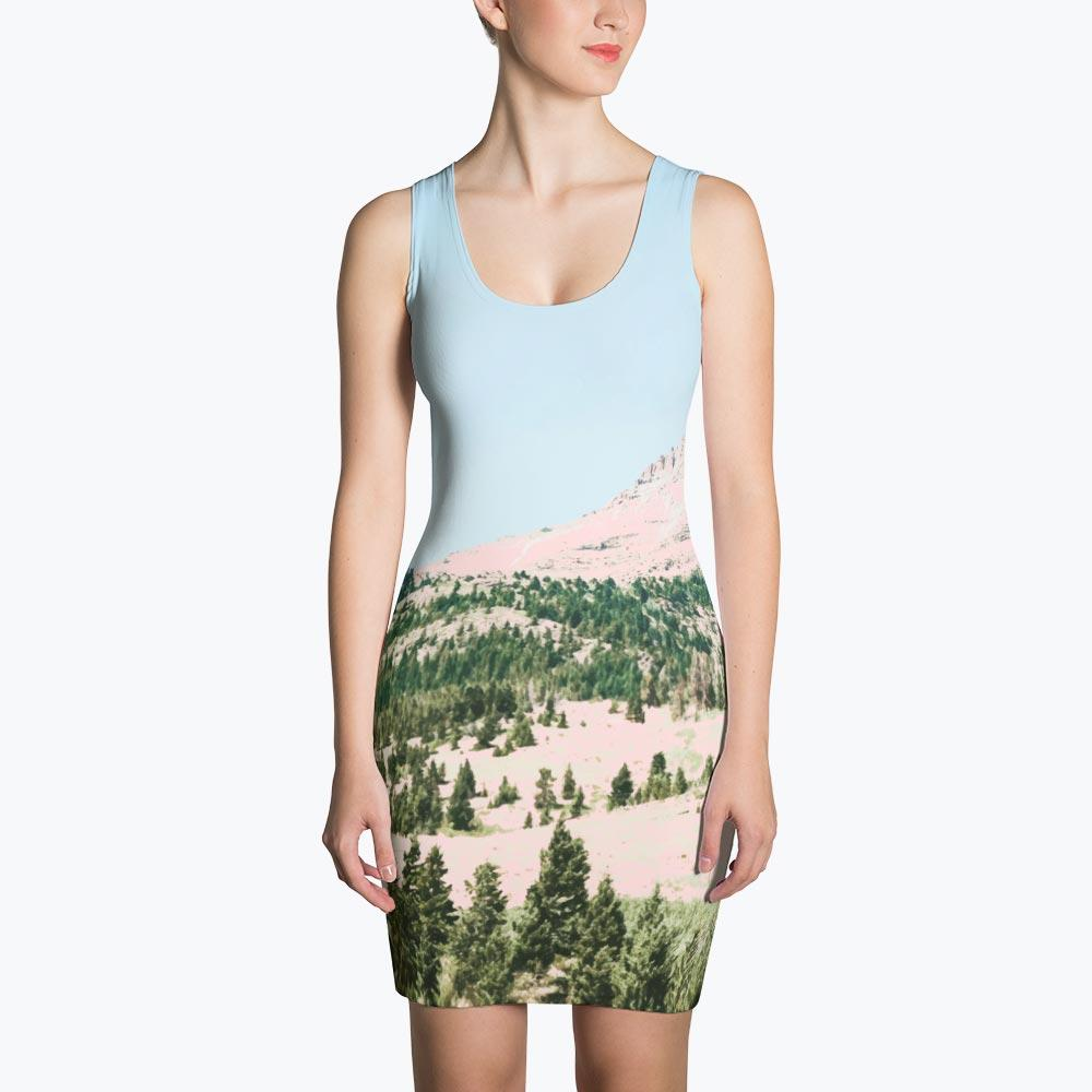 Happy Mountain Sublimation Dress