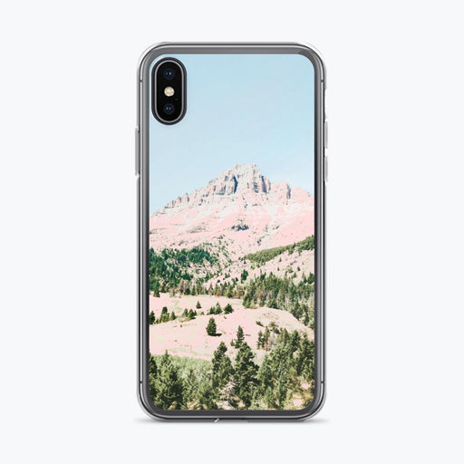 Happy Mountain iPhone Case