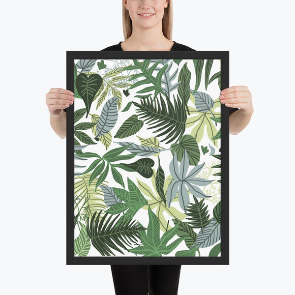 In The Jungle Framed Poster