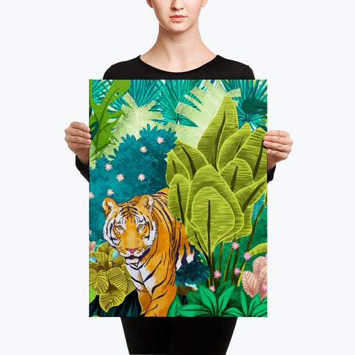 Jungle Tiger Canvas
