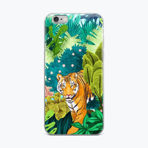Jungle Tiger iPhone Case