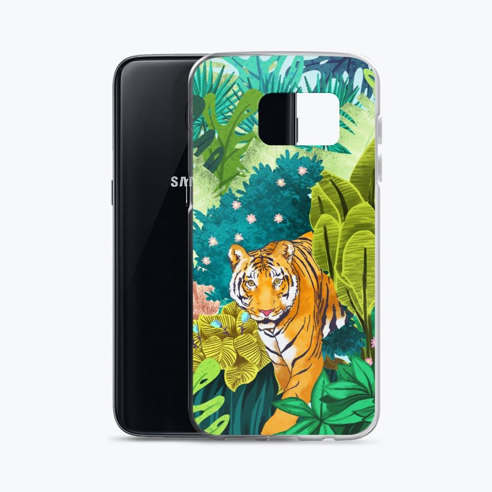 Jungle Tiger Samsung Case