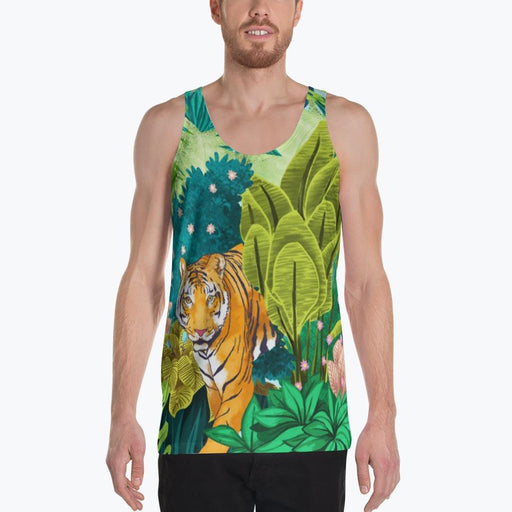 Jungle Tiger Unisex Tank Top