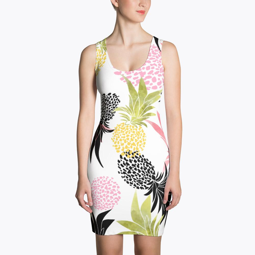 Pineapples Sublimation Dress