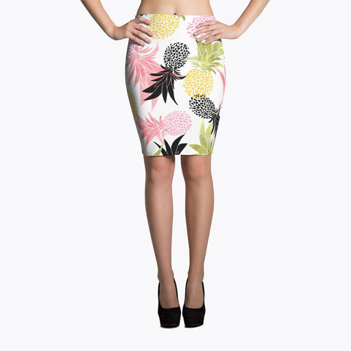 Pineapples Pencil Skirt