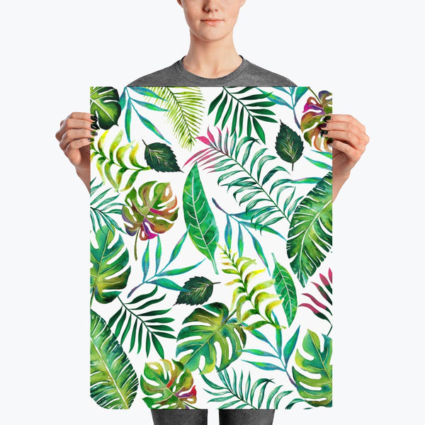 Tropical Flora Poster