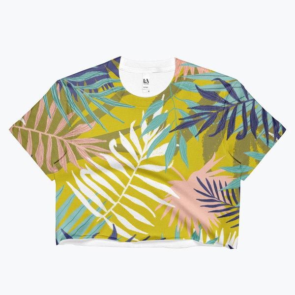 Vie De Palme Ladies Crop Top