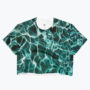 Waiting for Summer Ladies Crop Top