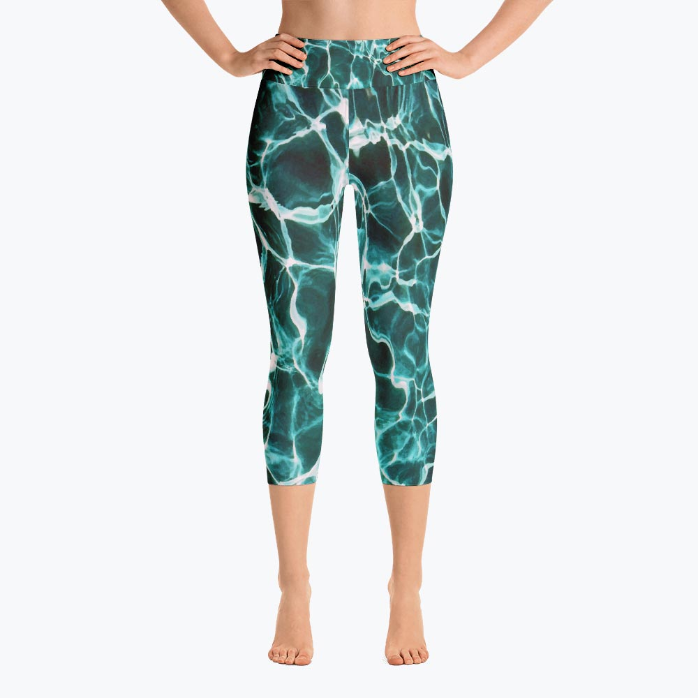 Waiting for Summer Yoga Capri Leggings