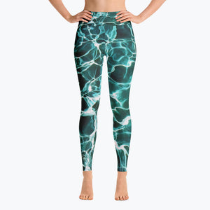 Waiting for Summer Yoga Leggings