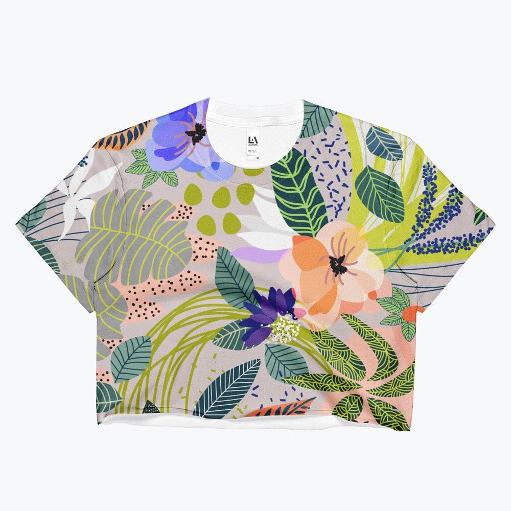 Wander Ladies Crop Top