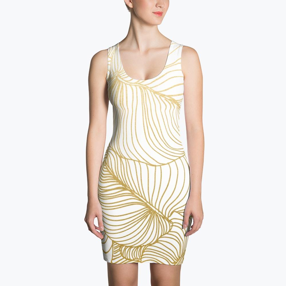 Wilderness Gold Sublimation Dress