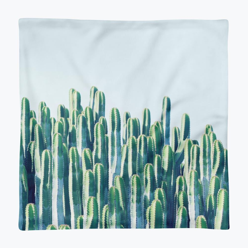 Cactus Square Pillow Case only