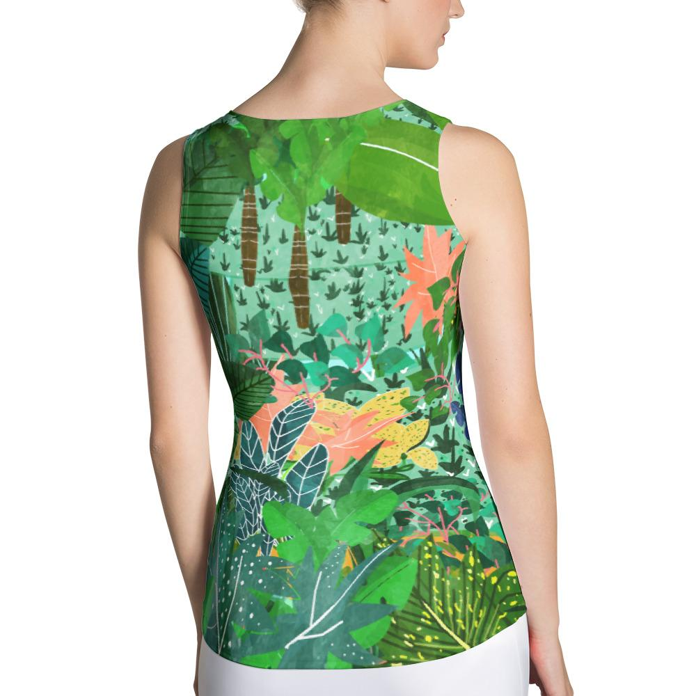 Dense Forest Sublimation Tank Top