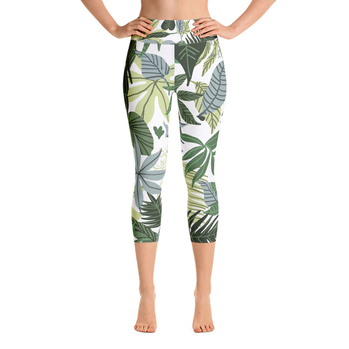 In The Jungle Yoga Capri Leggings