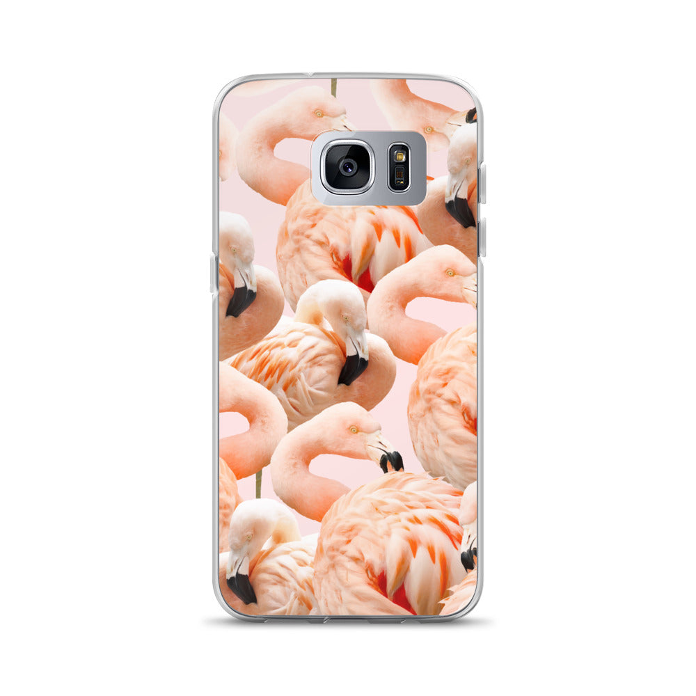 Flamingo Blush Samsung Case