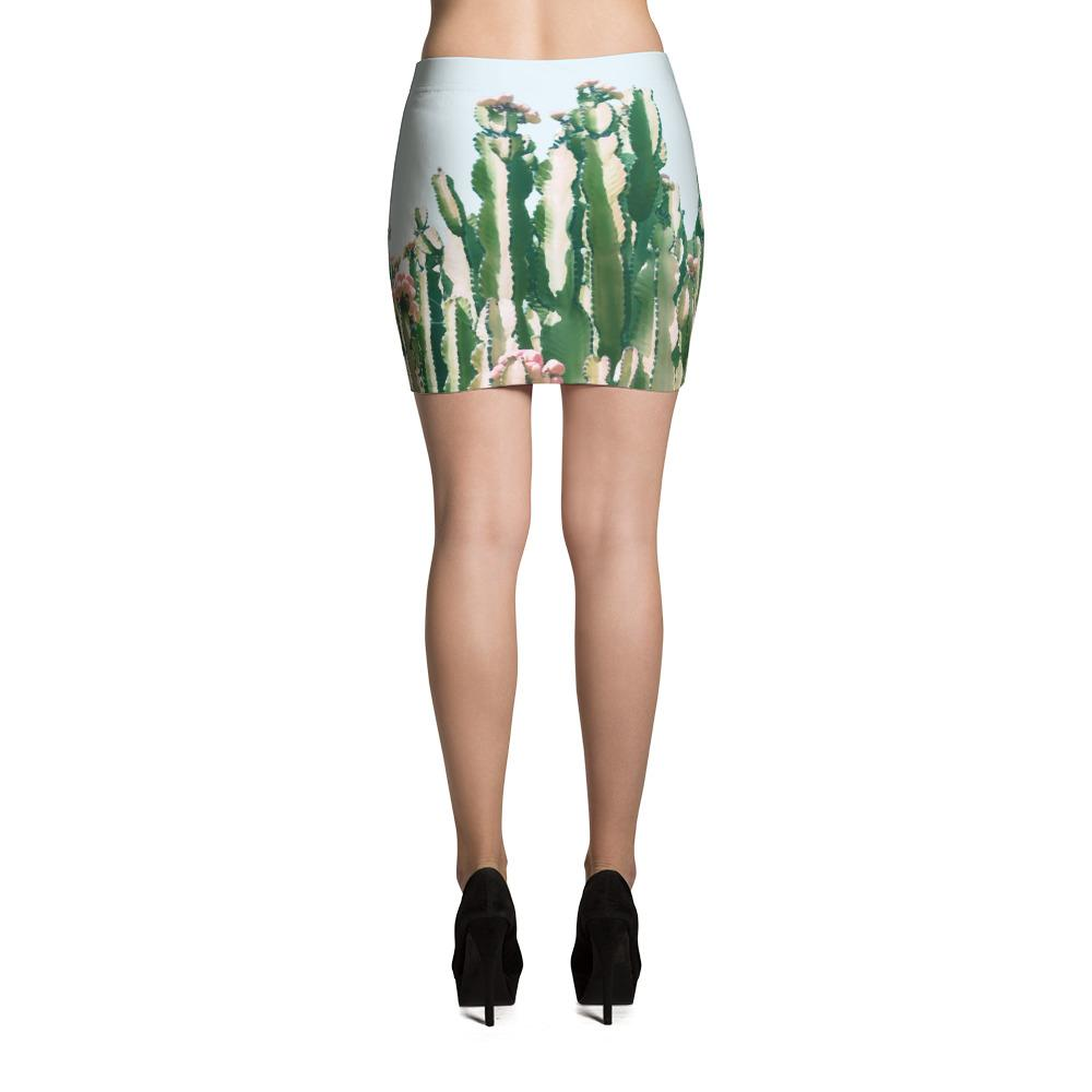 Blush Cactus Mini Skirt