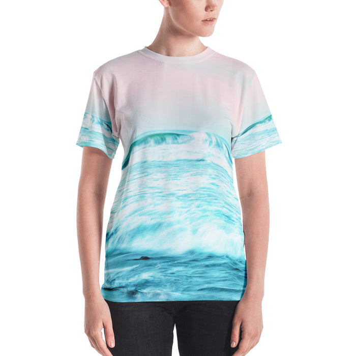 Sun. Sand. Sea. Women's All-Over T-shirt
