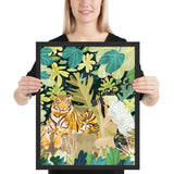 Tiger Sighting Framed Poster