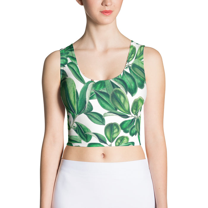 Botanica Sublimation Crop Top