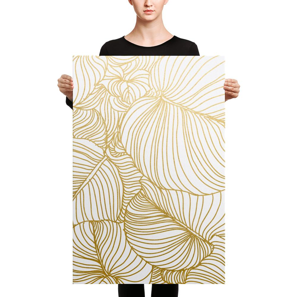 Wilderness Gold Canvas