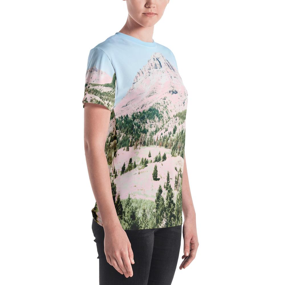 Happy Mountain Women's All-Over T-shirt