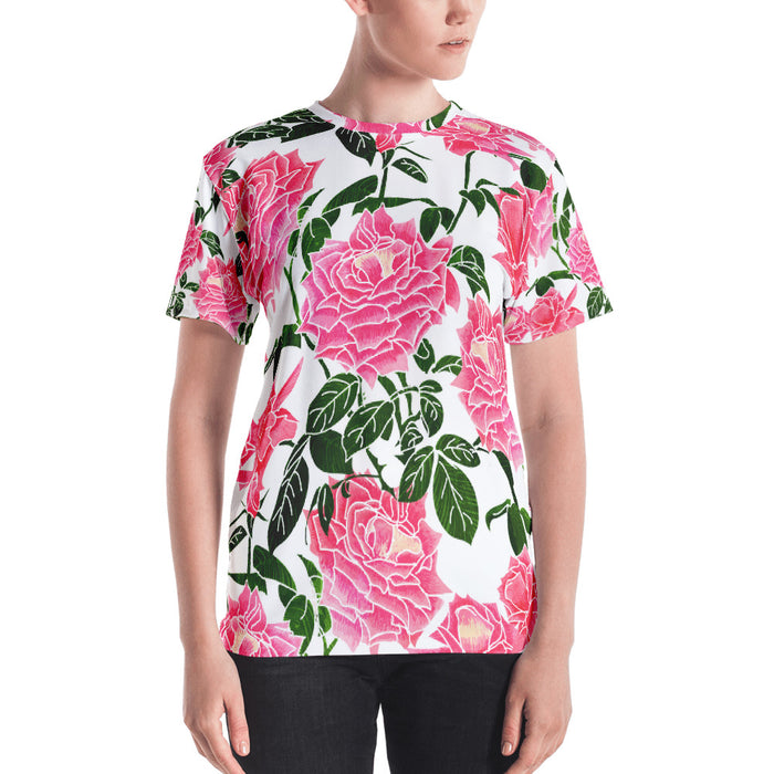 Rose II Women's All-Over T-shirt