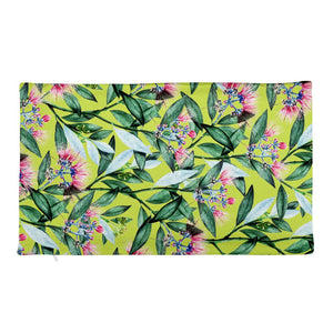 Floral Cure Rectangular Pillow Case only