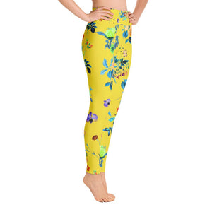 Floral Shower Yoga Leggings