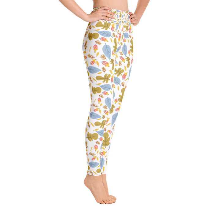 Leaflets Yoga Leggings