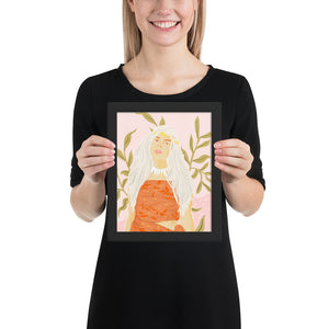 Dress Like The Locals Framed Poster