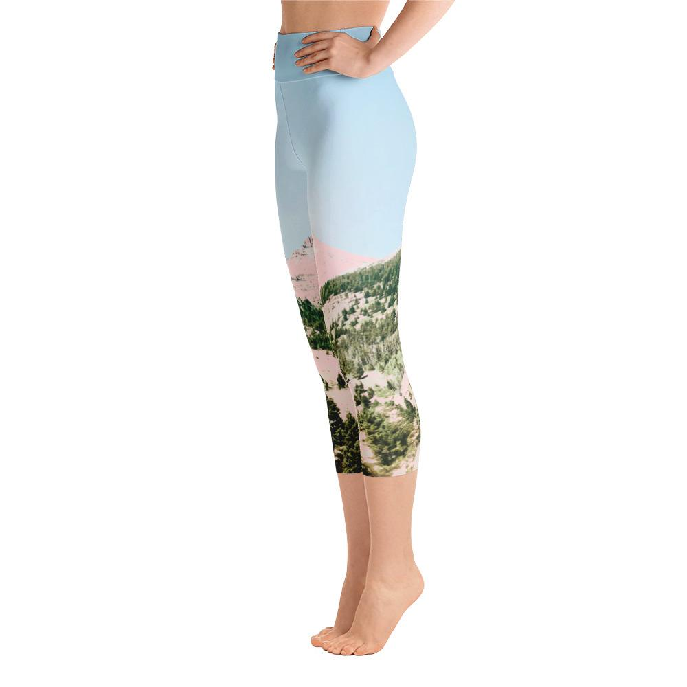 Happy Mountain Yoga Capri Leggings