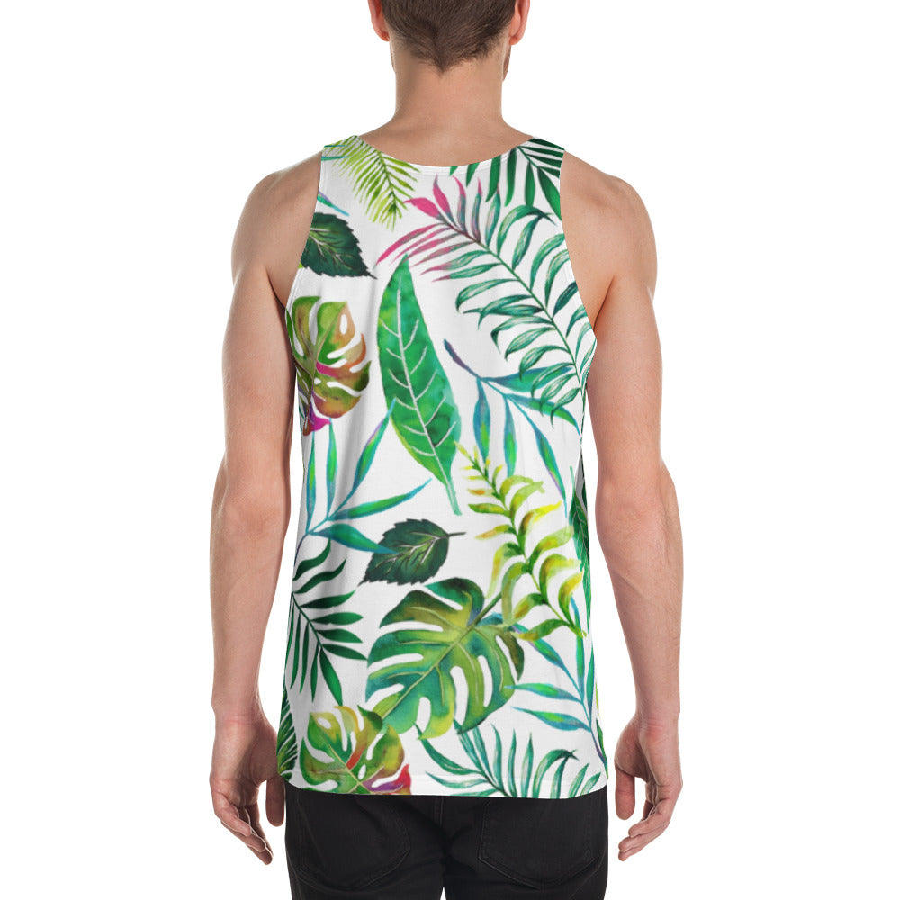 Tropical Flora Unisex Tank Top