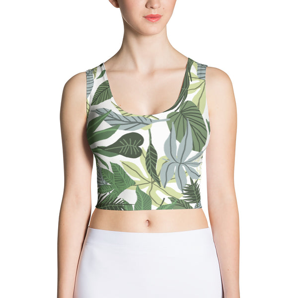In The Jungle Sublimation Crop Top