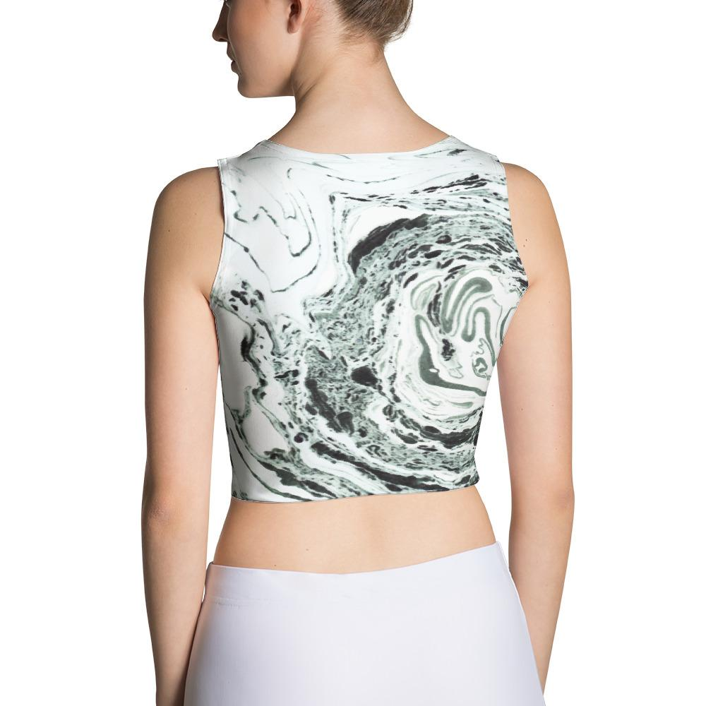 Salt Sublimation Crop Top