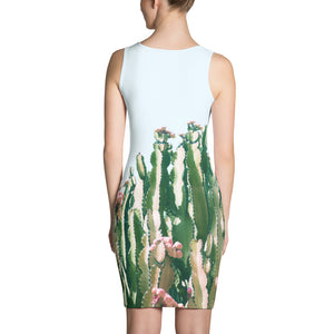 Blush Cactus Sublimation Dress