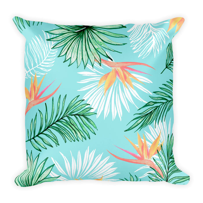Tropic Palm Square Pillow