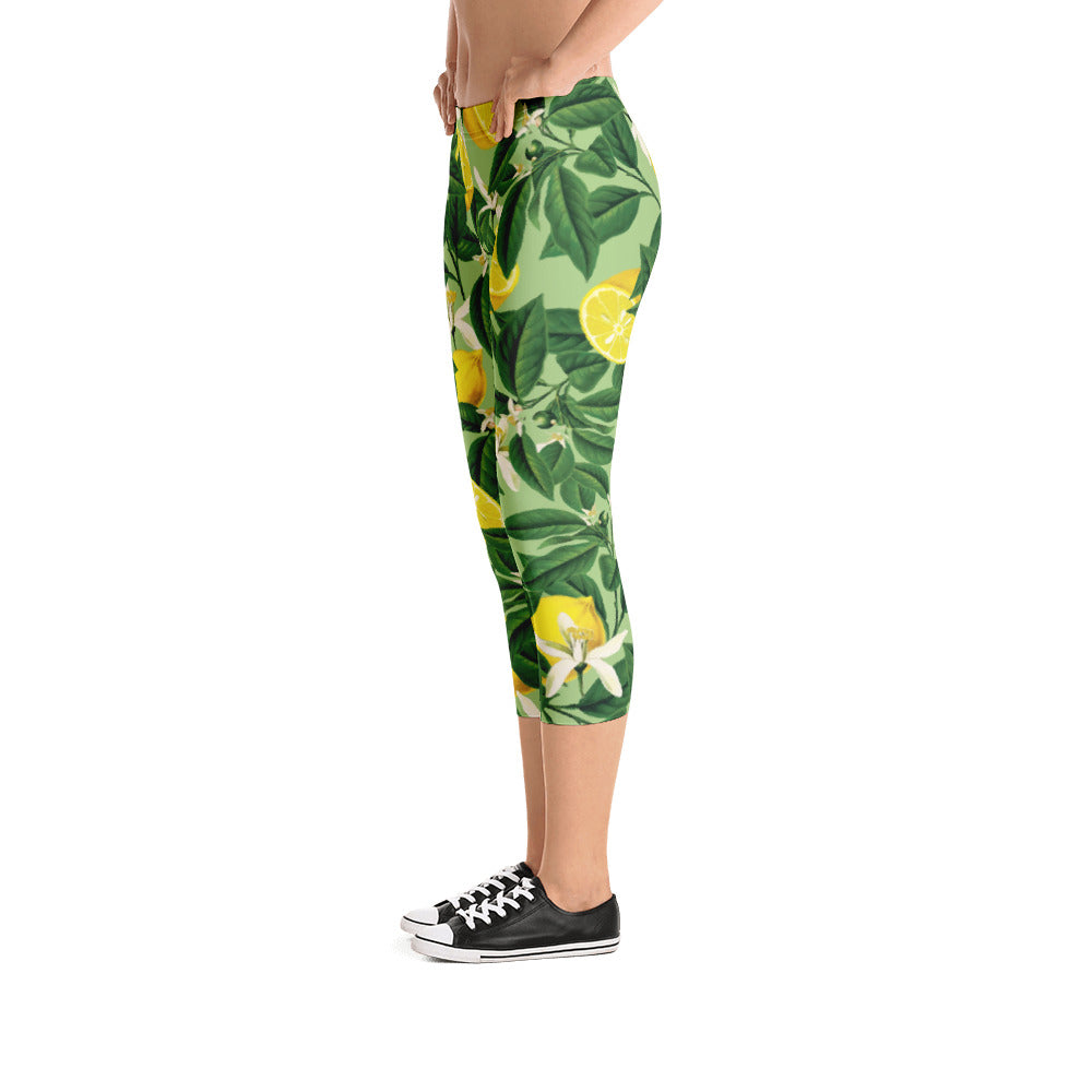Lemonade II Capri Leggings