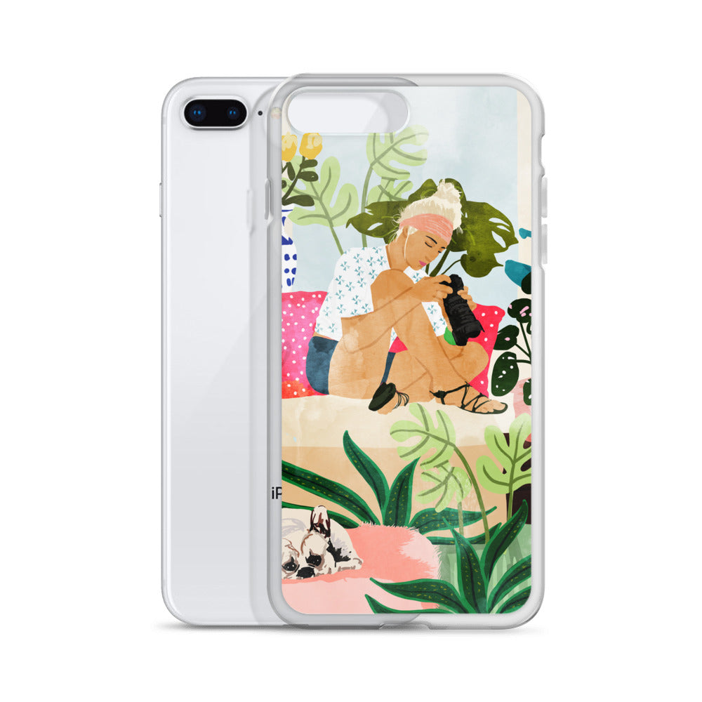 Miss Blogger iPhone Case