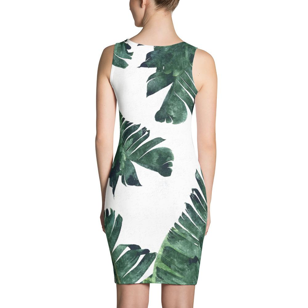 Banana Leaf Sublimation Dress