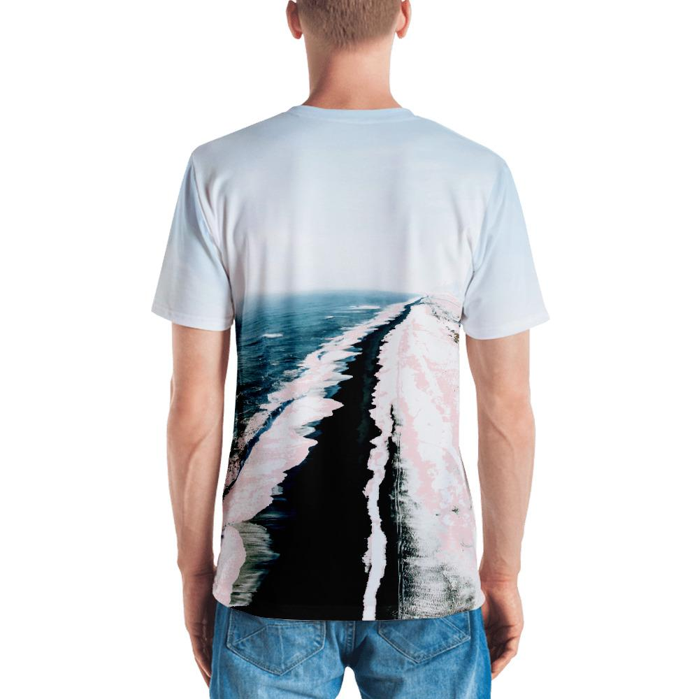 Pink Sand Men's All-Over T-shirt