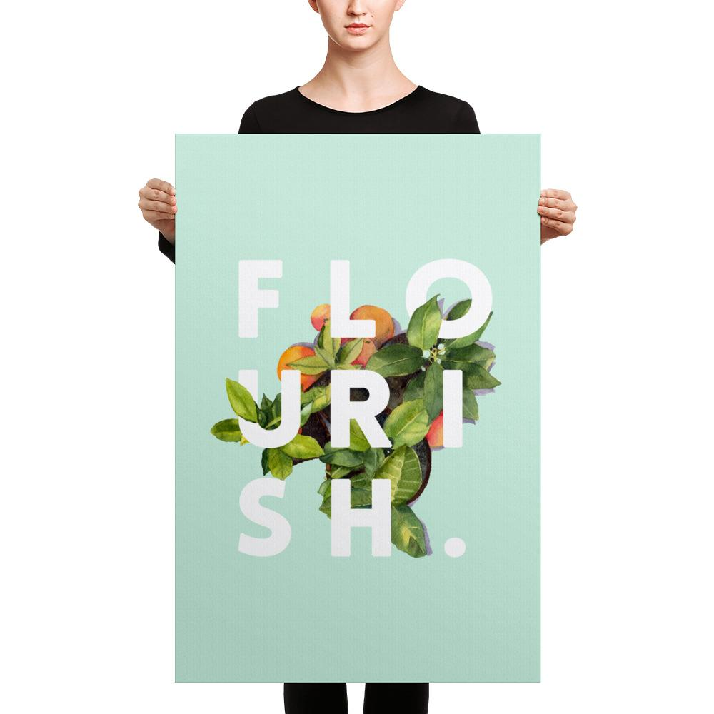 Flourish Canvas
