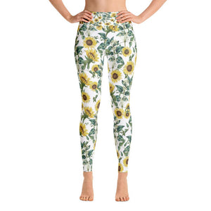 Sunflower Valley Yoga Leggings