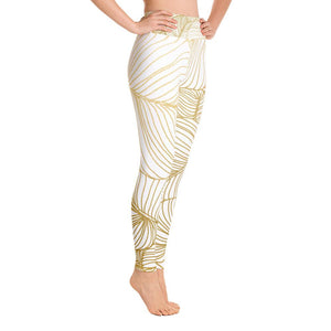 Wilderness Gold Yoga Leggings