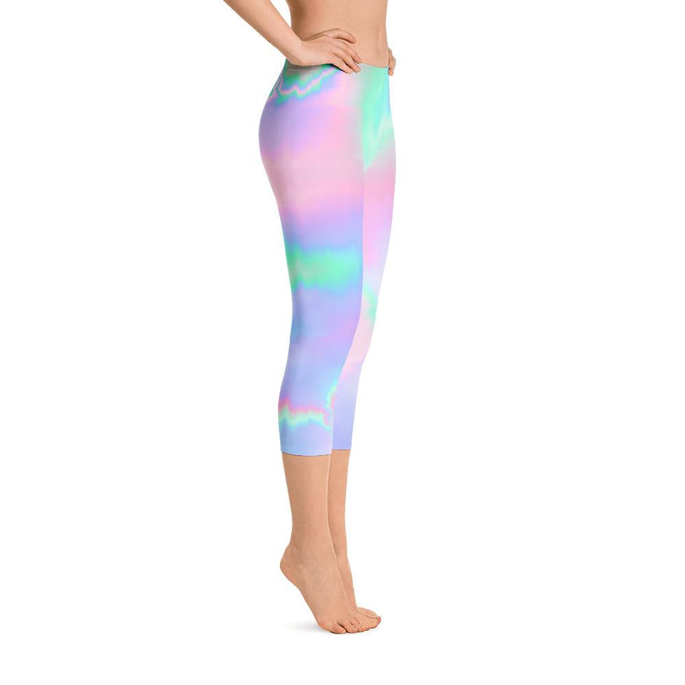 Holograph Capri Leggings