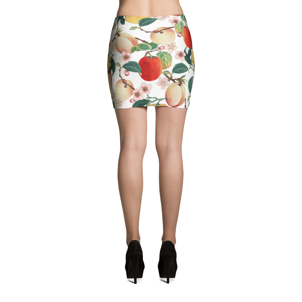 Fruity Summer Mini Skirt