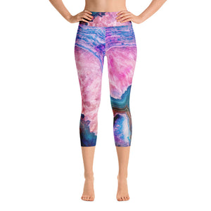 Agate Yoga Capri Leggings