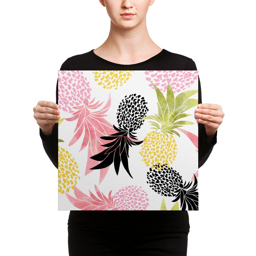 Pineapples Canvas